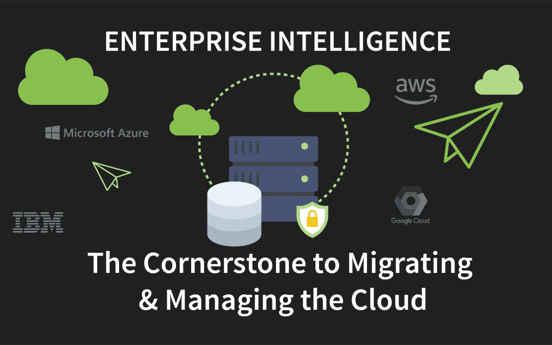 Enterprise Intelligence – The Cornerstone to Migrating & Managing the Cloud