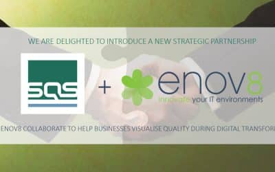 SQS & Enov8 collaborate to help businesses visualise quality during digital transformation
