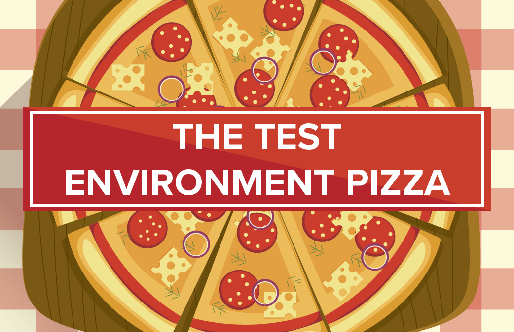 The Test Environment Pizza