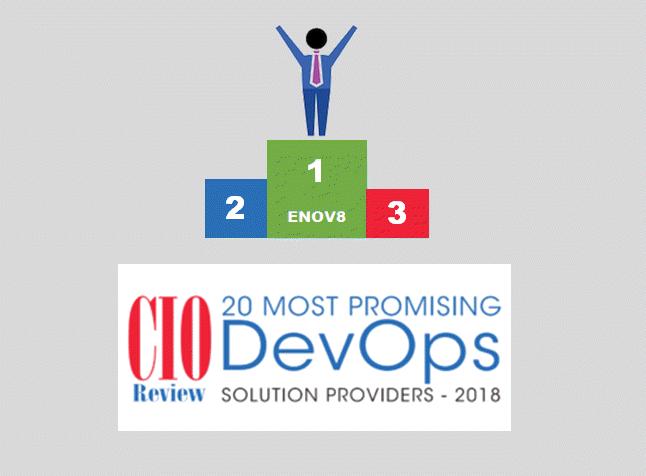 Enov8 Winner – Most Promising DevOps Tool 2018